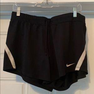 Nike Black Drawstring Shorts